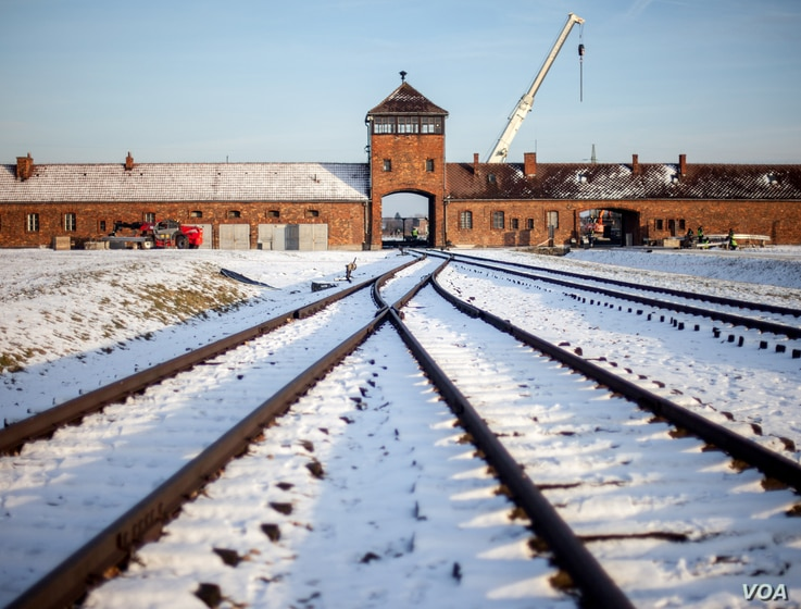 DO NOT TAKE  -- restrictions -- slider project only -- 2E GUERRE MONDIALE-AUSCHWITZ
