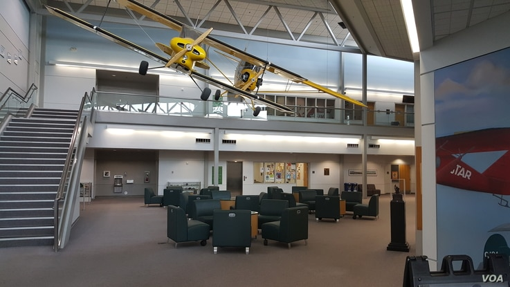 The University of Alaska Anchorage's new aviation director said his department has capacity to grow enrollment. (Photo Courtesy of UAA Aviation)