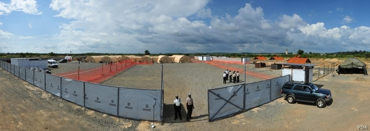 Photo Credit: Sgt. 1st Class Nathan Hoskins, Joint Forces CommandUnited Assistance Public Affairs The Monrovia Medical Unit, an Ebola treatment unit built specifically for the care of medical workers who become infected with the virus, sits about 30 ...