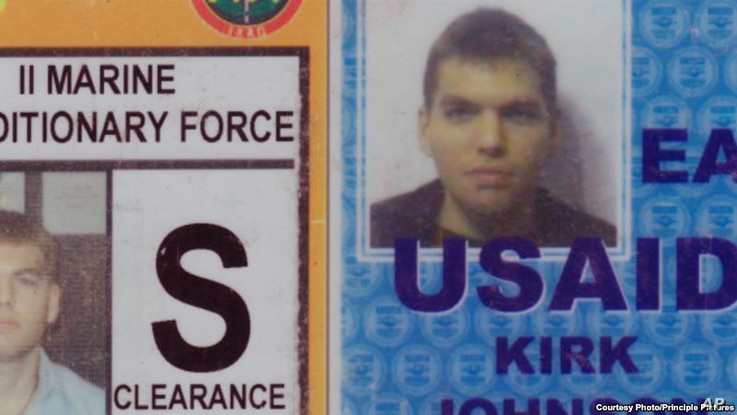 Johnson first went to Iraq in 2004 to work for the U.S. Agency for International Development.