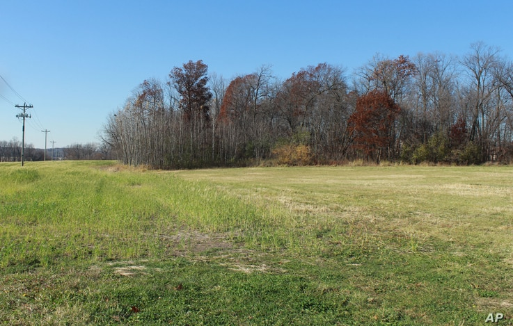 FILE - The area where 11-year-old Jacob Wetterling was abducted in Oct. 1989 in St. Joseph, Minn., shown Nov. 3, 2015. Patty Wetterling, Jacob's mother, said Saturday that his remains have been found.