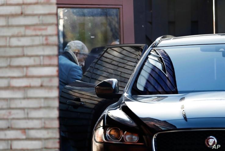 Rep. John Conyers, D-Mich., leaves his home in Detroit, Nov. 29, 2017. Conyers is being pressured by some in Washington to resign. He recently stepped down from his post as top Democrat on the House Judiciary Committee after facing allegations of sex...