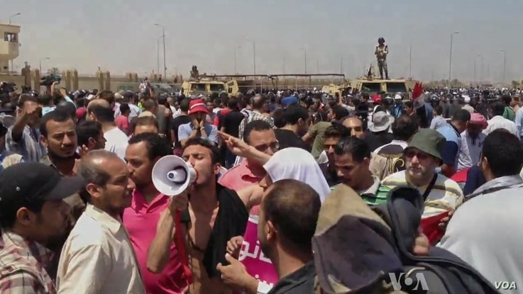 Egypt's Mubarak Gets Life in Prison for Involvement in Protesters' Deaths