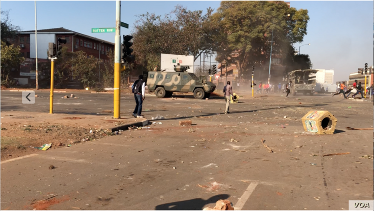 The international community and human rights groups have condemned the way President Emmerson Mnangagwa's government used the army to disperse opposition protesters demanding the release of credible election results. At least six people were killed i...