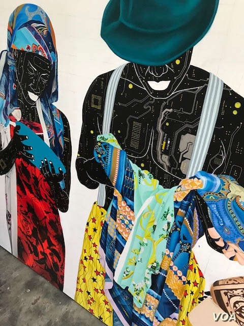 Ilunga's work has been exhibited in South Africa, Europe and the U.S. as African art has grown increasingly more popular, but he and other Congolese artists say they lack the international recognition they deserve.