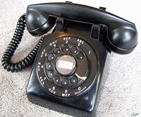 In the United States, rotary dial phones have been replaced by touch tone models