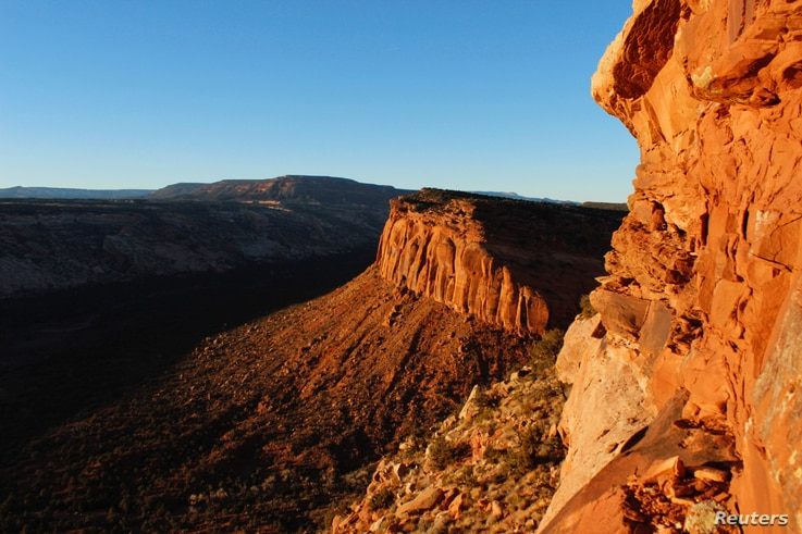 The view from Comb Ridge is pictured in Utah's Bears Ears area of the Four Corners Region, Utah, Dec. 18, 2016.
