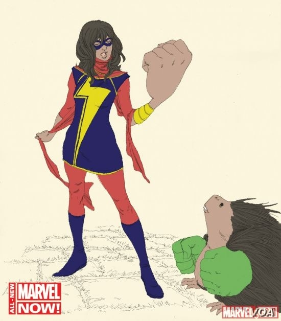 Ms. Marvel is a new comic book character who is a Muslim-American teenage girl. (Marvel)