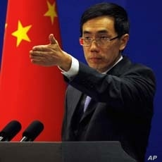 China's Foreign Ministry spokesman Liu Weimin.