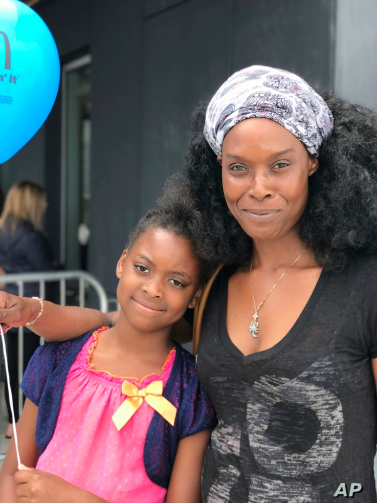 Clarissa Williams of West Hempstead, N.Y., and her daughter Nylah, 8, saw one of the final shows of Ringling Brothers and Barnum & Bailey circus at the Nassau Veteran's Memorial Coliseum in Uniondale, N.Y., May 20, 2017. Williams is a lifelong circus...