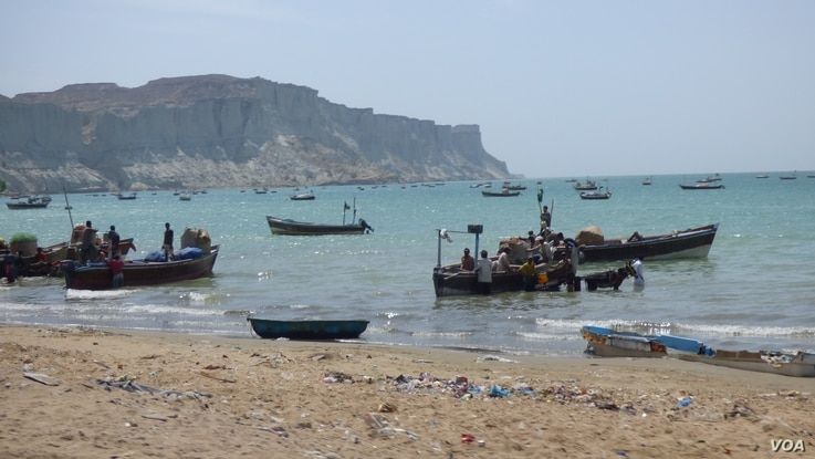 Fishing is the main source of economy in Gwadar.