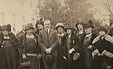 President Calvin Coolidge was a supporter of the women's rights movement.