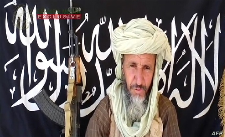 This image released on December 25, 2012 by Sahara Media, shows one of the leaders of  Al-Qaeda in the Islamic Maghreb (AQIM), Abdelhamid Abou Zeid in an undisclosed place.