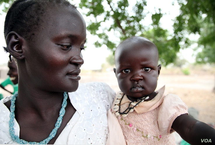 Deprived of education and married off early, most South Sudanese women get little, if any, say in their households. (Hannah McNeish/VOA)
