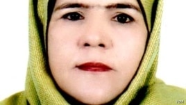 Anisa Rasooli, a leading lawyer who has been nominated to become Afghanistan's first female Supreme Court judge.