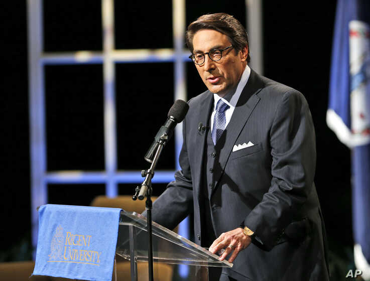 FILE: Jay Sekulow, one of president's Trump lawyers says Trump is not under investigation.