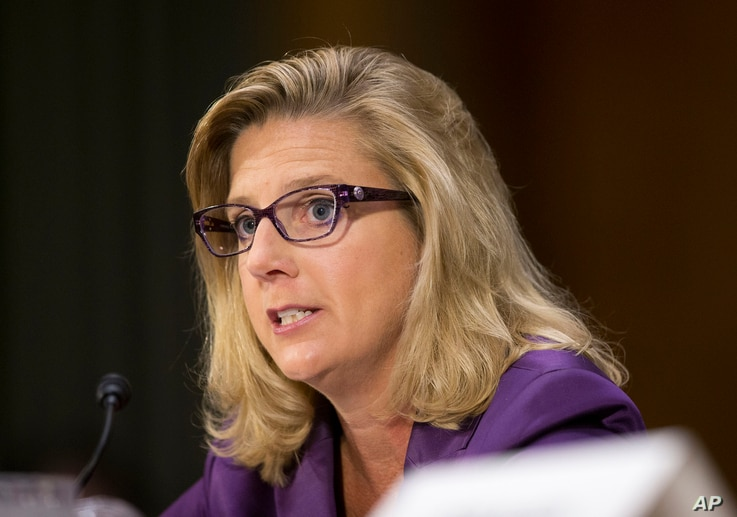 Defense Undersecretary Christine E. Wormuth testifies on Capitol Hill in Washington, Sept. 16, 2015.