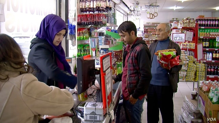 A first outing in Reims - a Halal supermarket