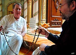 According to Jewish tradition, the truth is like adding links to a chain, rather than subtracting the assertions which don't fit one's preconceptions, personal beliefs or dogmas. Here Hirschfield meets with a Hindu devotee