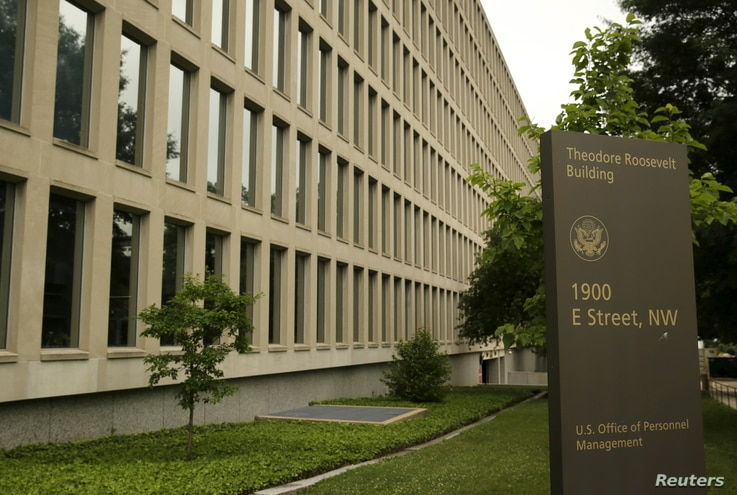 The U.S. Office of Personnel Management building in Washington, June 5, 2015.