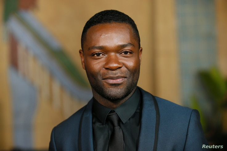 """Actor David Oyelowo portrays the Rev. Martin Luther King Jr. in the film """"Selma."""""""