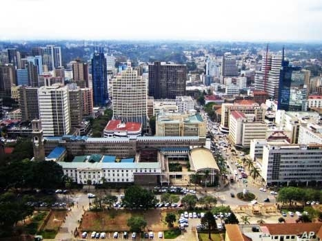 The city of Nairobi, home to some of East Africa's most prominent gay rights organizations
