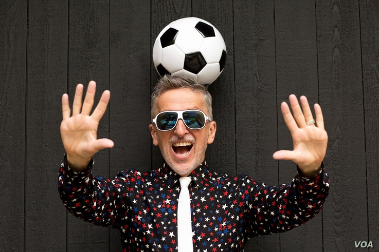 Simon Doonan, author of 'Soccer Style,' praises World Cup jersey designs for Nigeria and Colombia, among others. (Joe Gaffney photo)