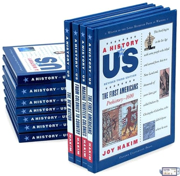 A History of US takes students from the first people in North America to the election of Barack Obama