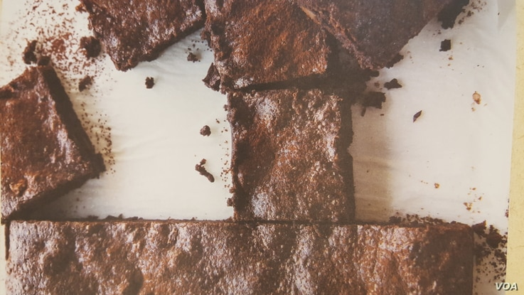 "Amanda Haas says the coconut oil in her Chocolate Coconut Brownies provides ""incredible texture."" (Credit: Erin Kunkel)"