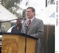 Alan Doss, Chief of the United Nations Mission to the Democratic Republic of Congo