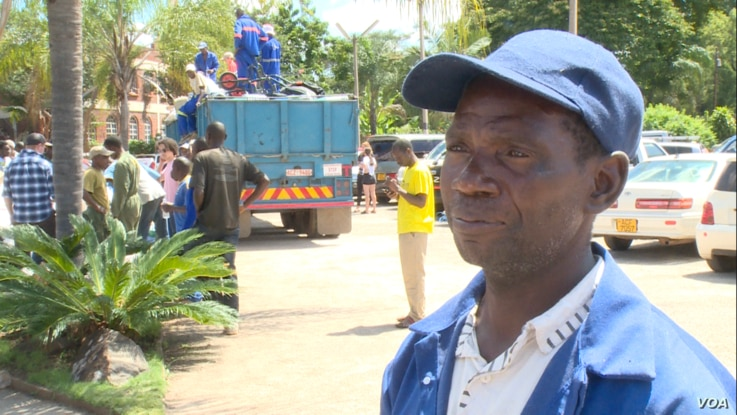Johanne Chapungu Oposi, who is from Chimanimani which was affected by Cyclone Idai, says his former classmate and his family, and a neighbor were buried alive when a hill collapsed on them while they slept.