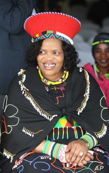 Magwaza-Msibi has also presented herself as a Zulu traditionalist ahead of the elections