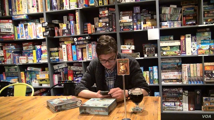 Victory Point Board Game Cafe has a library of more than 800 games customers can check out and play while they enjoy their coffee.