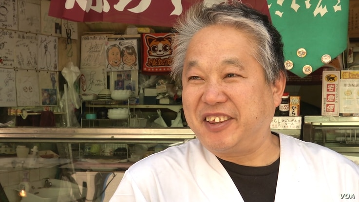 Manabu Goto, who runs a small family store in a residential district of Tokyo, said Abenomics 'has failed.'