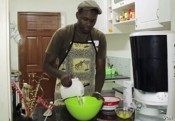 """Sam Muremi and his sister run a bakery out of their home in Nairobi, Kenya. But pastries are not his only passion. He writes poems during his breaks, and by night, he takes to the stage under his alter ego, """"Ecks."""""""