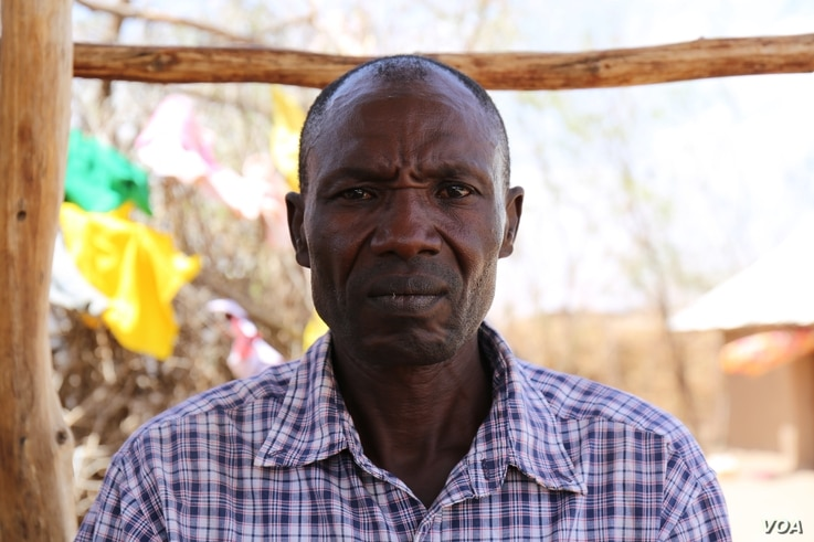 Michael Abukassin Kuku, a 48 year-old Sudanese refugee from Nuba, living in Kakuma refugee camp. Yahya was scheduled to fly from Kakuma to Nairobi on January 30, for processing before his resettlement in Tucson, Arizona, but the U.S. travel ban preve...