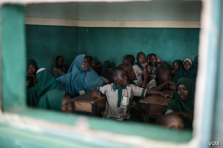 The Future Prowess Islamic Foundation school teaches children whose parents are members or supporters of the armed group, Boko Haram.