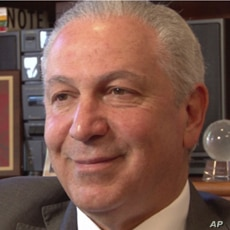 Moroccan Ambassador to US, Aziz Mekaour, during an interview with VOA, June 29, 2011