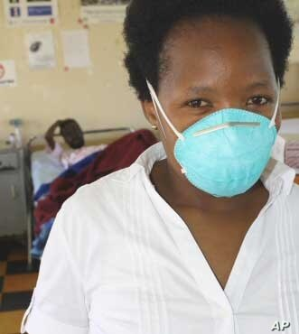 State health facilities in South Africa often run out of basic medical equipment, such as surgical masks