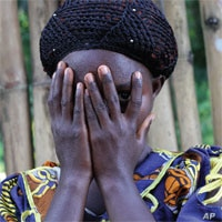 In eastern DRC, a victim of an LRA attack