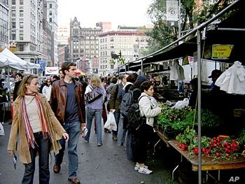 What began as three or four stalls drew ever larger crowds, encouraged other businesses, and increased real estate values