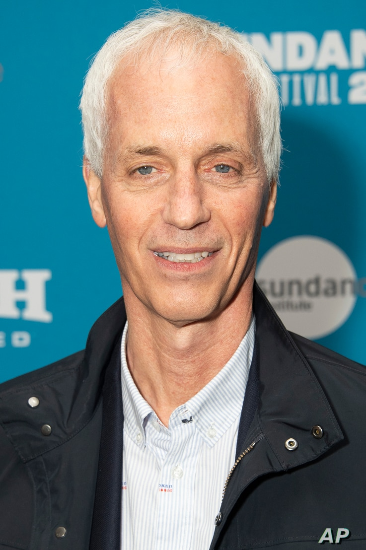 "Director Dan Gilroy poses at the premiere of ""Velvet Buzzsaw"" during the 2019 Sundance Film Festival, Jan. 27, 2019, in Park City, Utah."