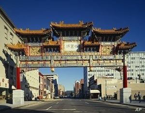 The gateway to Washington's Chinatown is called the Friendship Arch. But the neighborhood isn't so friendly to teenage loiterers these days.
