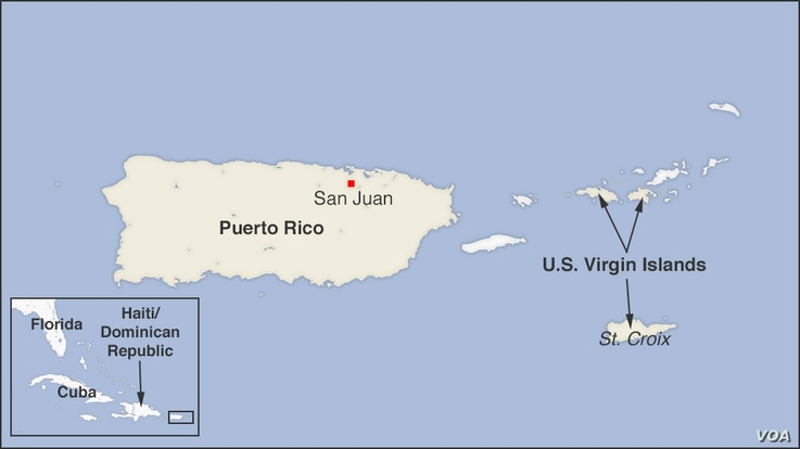 Puerto Rico and the U.S. Virgin Islands
