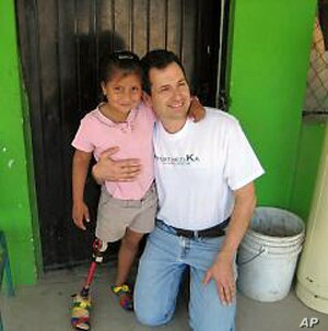 Jon Batzdorff founded ProsthetiKa to bring limb replacement services to poorer communities around the world.