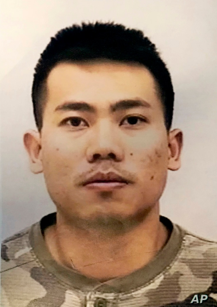 Peter Van Bawi Lian is shown in this undated photo from the Indianapolis Police Department.