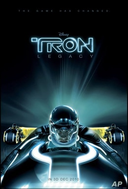 Black Swan, The Tourist, Tron: the Legacy Top Holiday Movie List