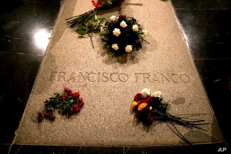Spain Franco's Remains