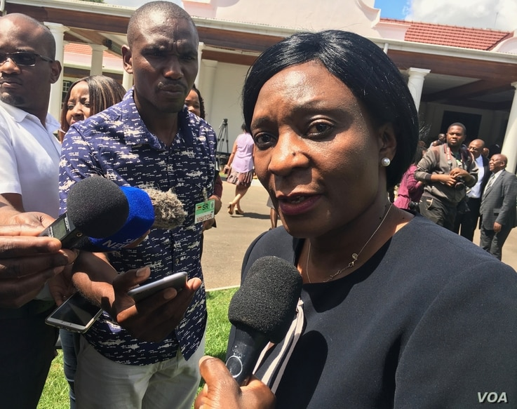 Zimbabwe Electoral Commission chairperson, Rita Makarau says, July 12, 2017, the country's parliament must change laws otherwise her organization cannot allow citizens in the diaspora to vote next year.
