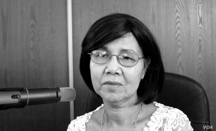 "Pichsanthor Kim survived the Khmer Rouge genocide and arrived in the United States as a refugee in 1980. She was featured in ""Follow the Moon"" radio documentary. (Courtesy photo of Greg Barron)"